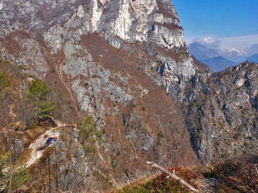 Klettersteig Riva Del Garda : Via dell`amicizia klettersteig gardasee u hotel leuchtenburg
