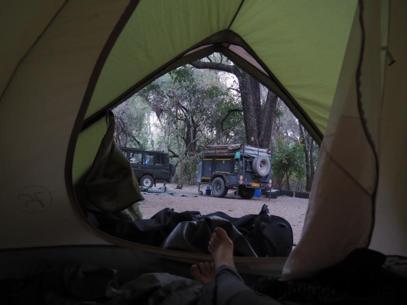 Zelt-Campingplatz-Namibia