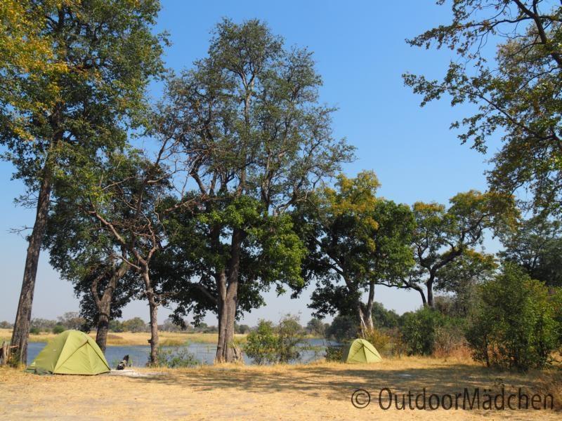 Camping-Okavango