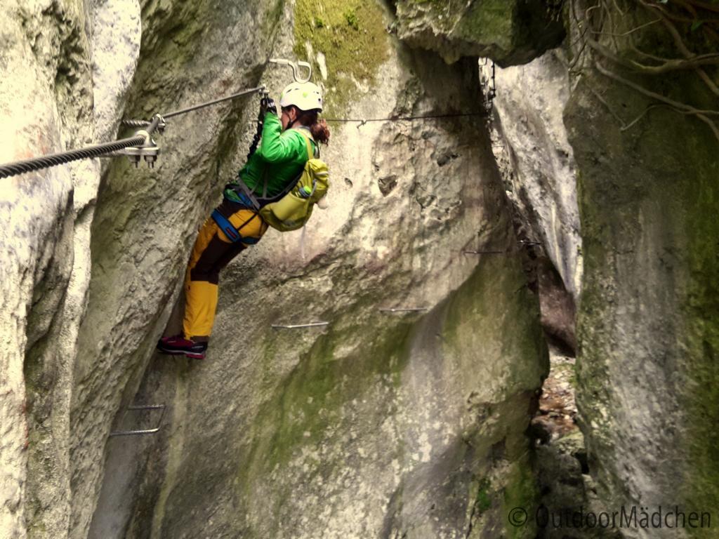 Klettersteig Vogesen : In einem land vor unserer zeit der klettersteig rio sallagoni
