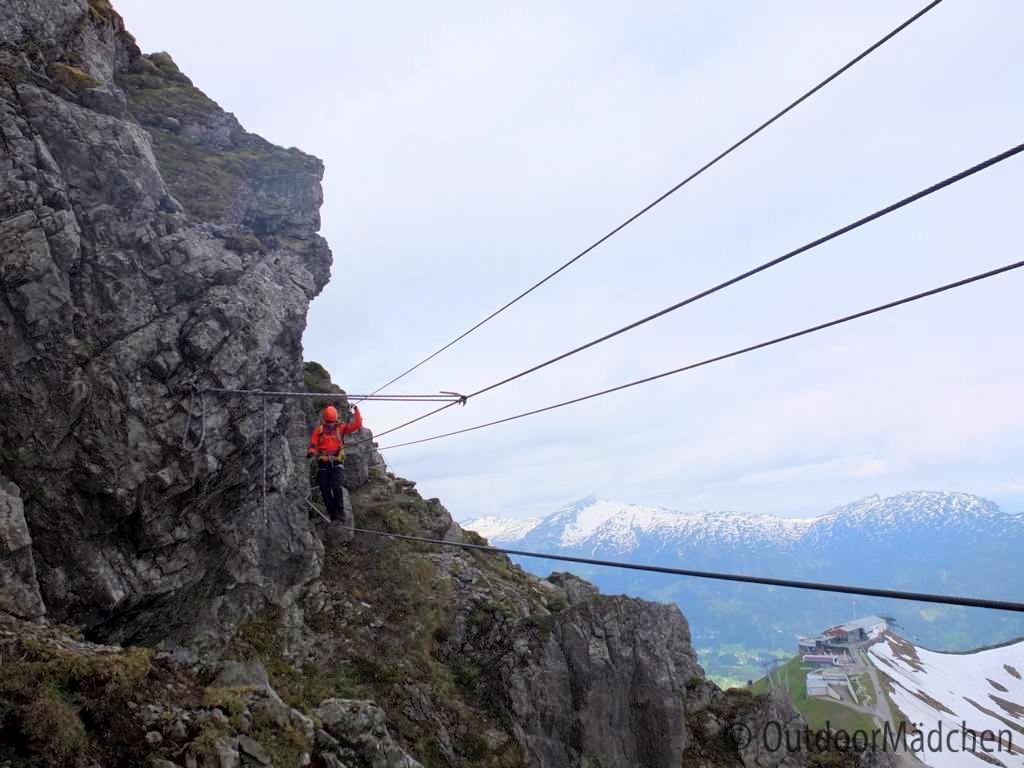 Klettersteig Kanzelwand : Klettersteige im allgäu und kleinwalsertal